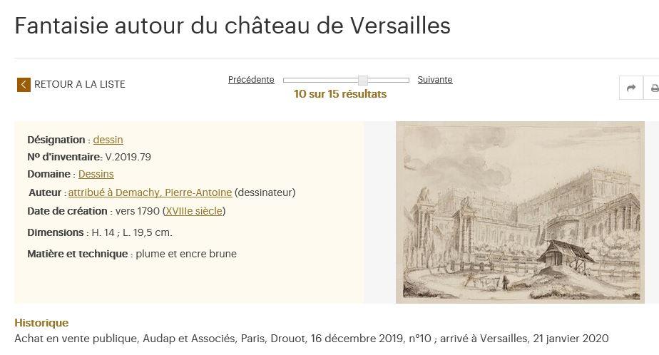 demachy - Exposition Pierre-Antoine Demachy à Versailles Dd17