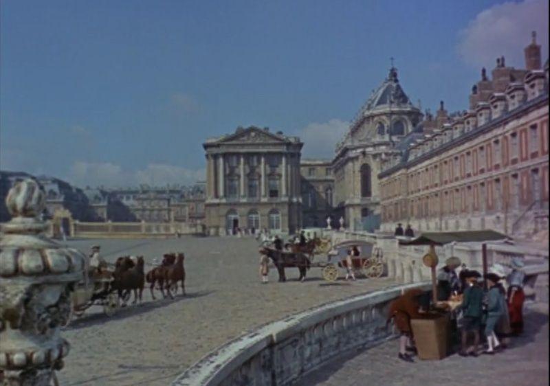 Le château de Versailles et le cinéma Grille10