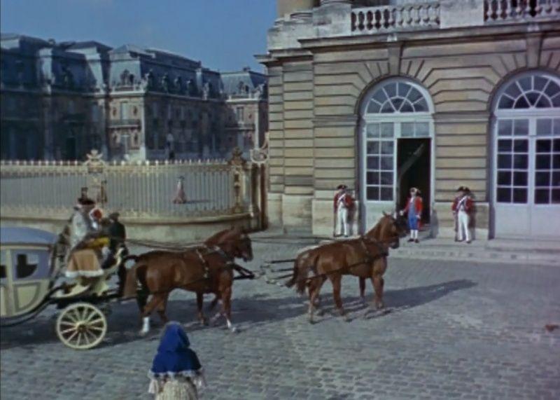 Le château de Versailles et le cinéma Grille11