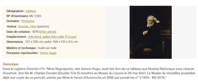 Le catalogue des désirs, 500 oeuvres prétées en province Hugo10