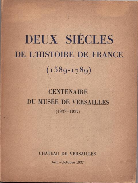 Centenaire du musée de Versailles 1837-1937 Img00279