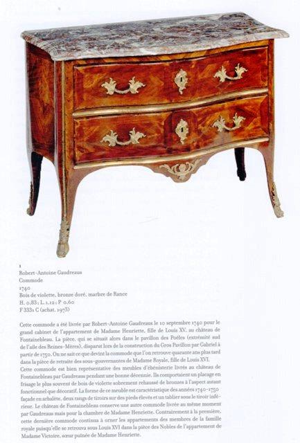 Acquisition de la Commode de Joubert par Fontainebleau  Img20376