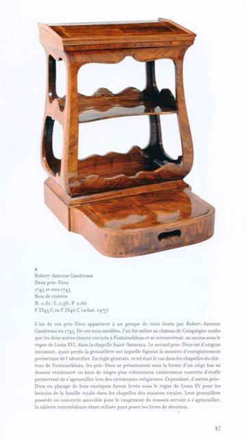Acquisition de la Commode de Joubert par Fontainebleau  Img20377