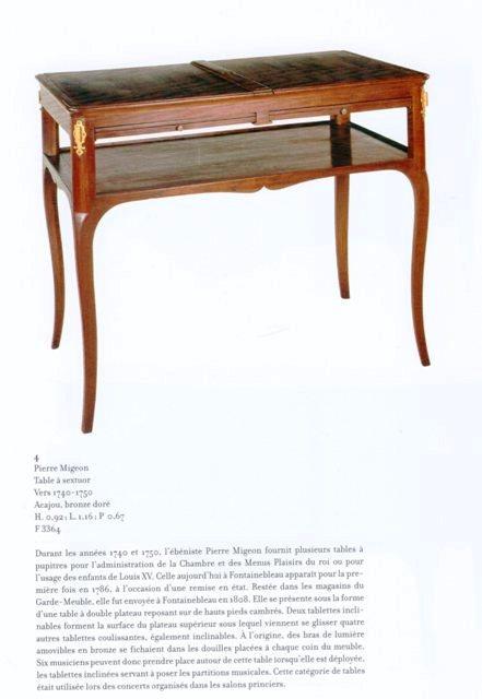 Acquisition de la Commode de Joubert par Fontainebleau  Img20378
