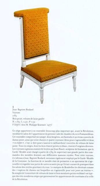Acquisition de la Commode de Joubert par Fontainebleau  Img20379