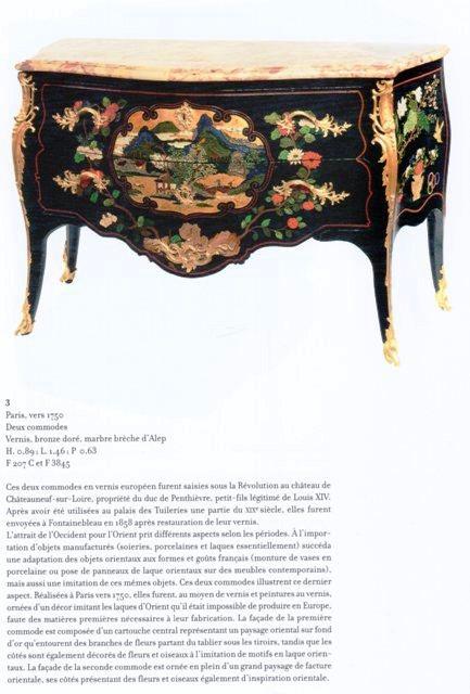 Acquisition de la Commode de Joubert par Fontainebleau  Img20380