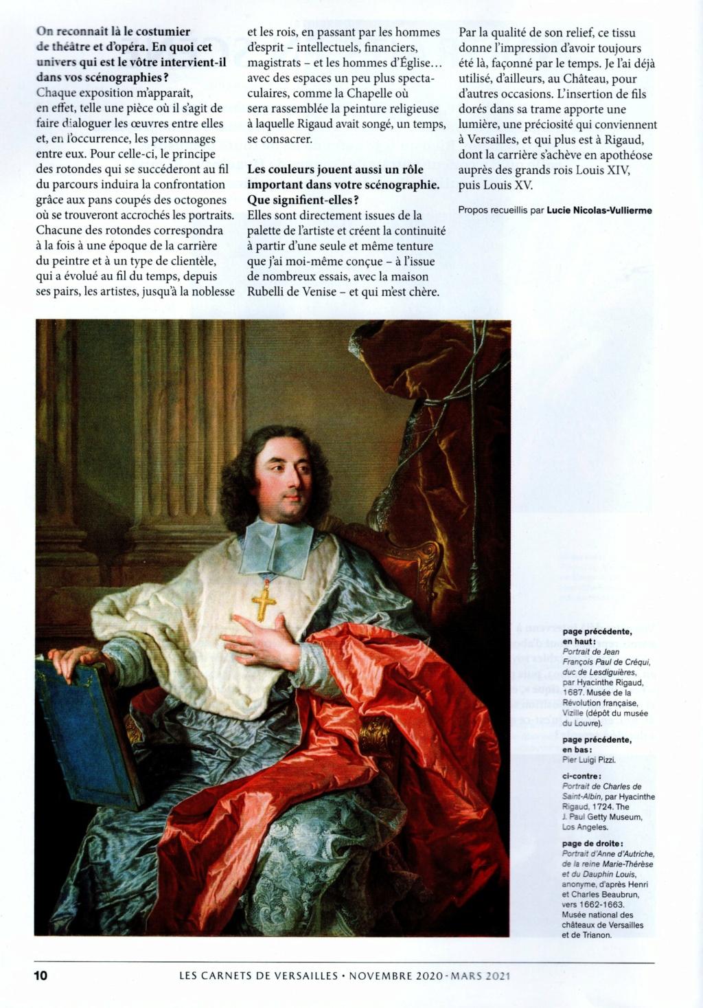 Hyacinthe Rigaud ou le portrait Soleil, expo Versailles 2020 Img20502