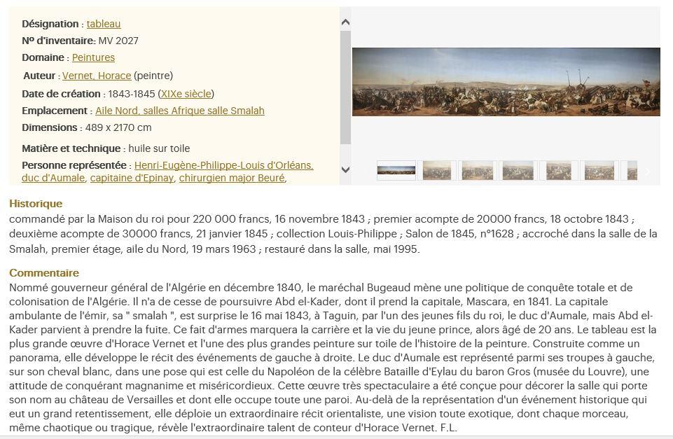 Exposition Louis-Philippe, en 2018 à Versailles - Page 5 Smalah10