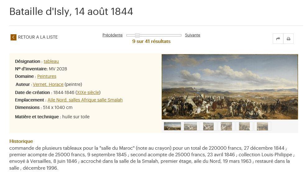 Exposition Louis-Philippe, en 2018 à Versailles - Page 5 Smalah11