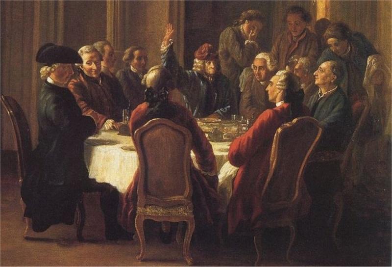 Le Café Procope Voltai10