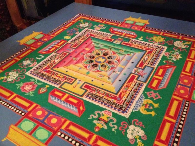 Sand Painting a Nalanda  Img_0010