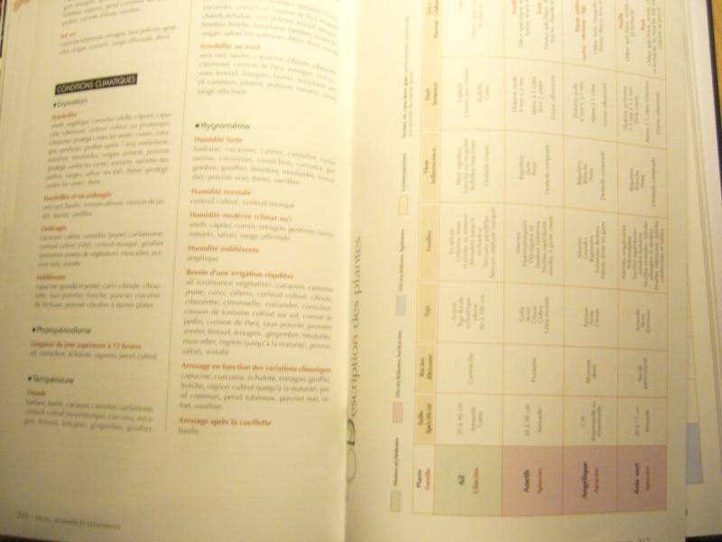 Livre sur les plantes aromatiques,condimentaires et à épices P1110519