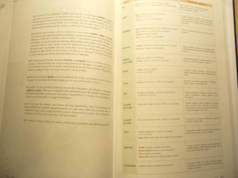 Livre sur les plantes aromatiques,condimentaires et à épices P1110520