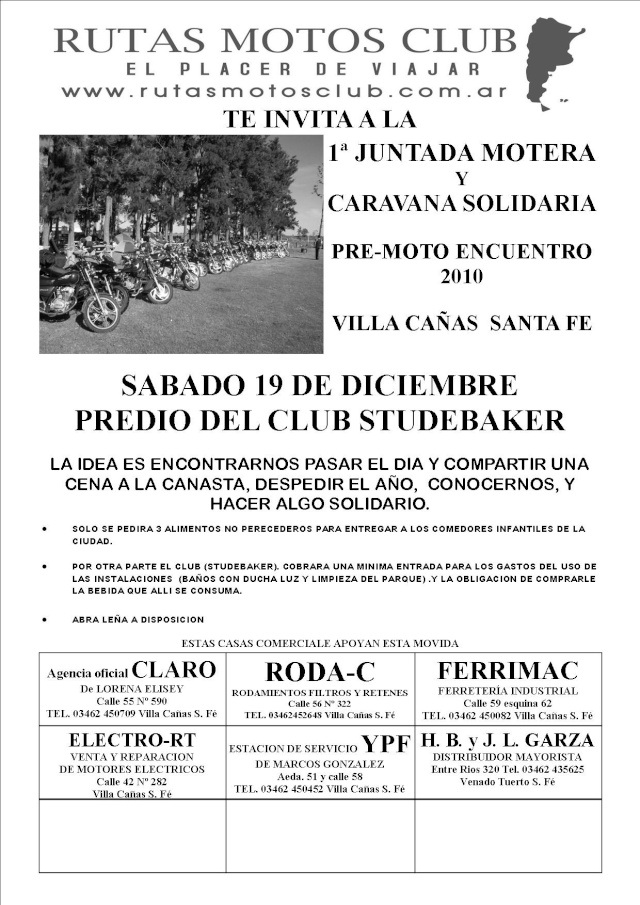 JUNTADA MOTERA EN VILLA CAÑAS SANTA FE Afiche10