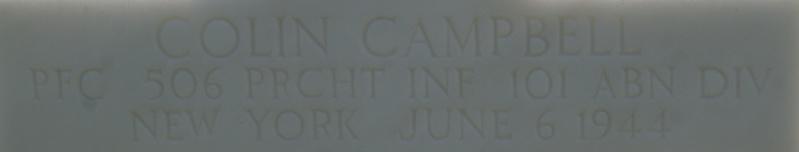 Monument WW2 - Picauville ( Normandie ) Dsc03323