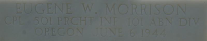 Monument WW2 - Picauville ( Normandie ) Dsc03348