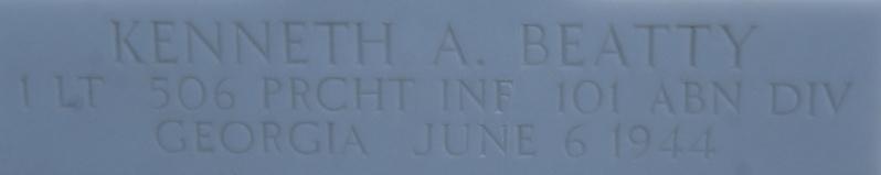 Monument WW2 - Picauville ( Normandie ) Dsc03419