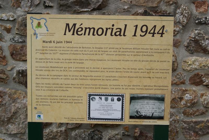 Monument WW2 - Négreville (Normandie) Dsc08515