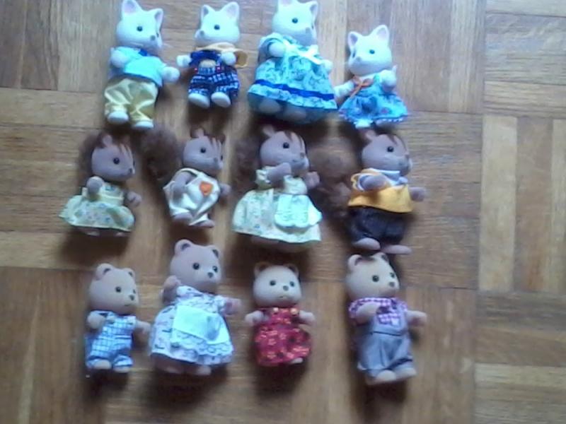 Ma petite collection Sylvanians Fammilies 2012-110