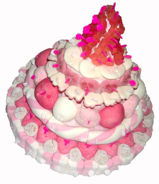 Joyeux anniversaire Bonbon Rose Piece-10