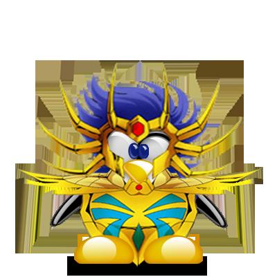 Non d'un pingouin !! Version Chevalier du Zodiaque Tux-g213