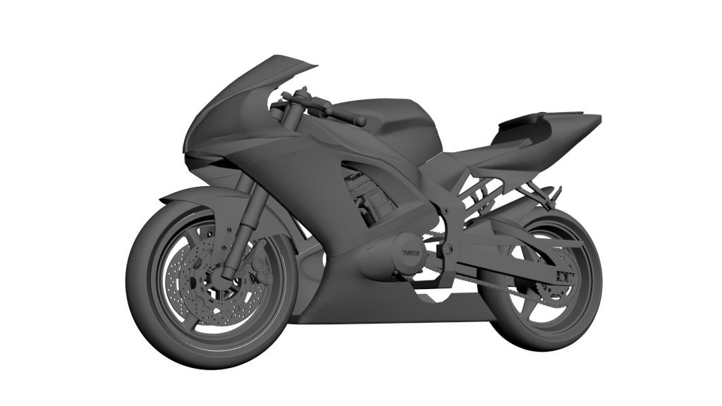 WIP Yamaha R1 3310