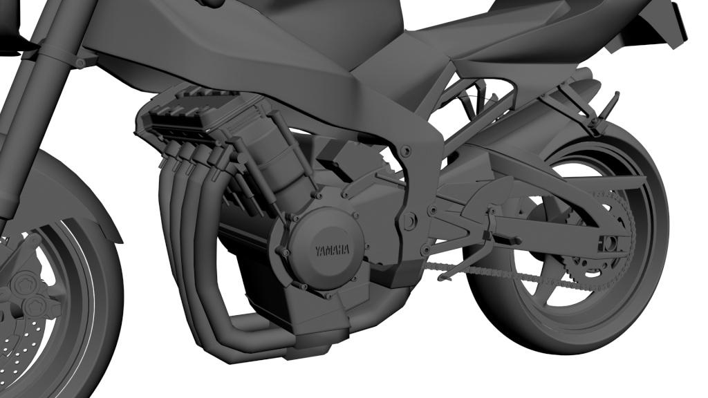 WIP Yamaha R1 4410