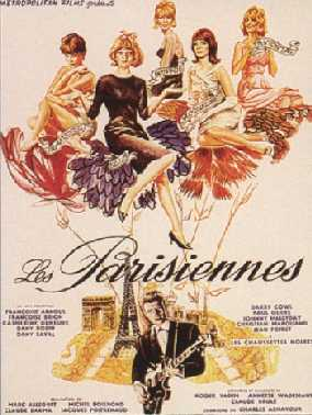 Les parisiennes 1962 68630810