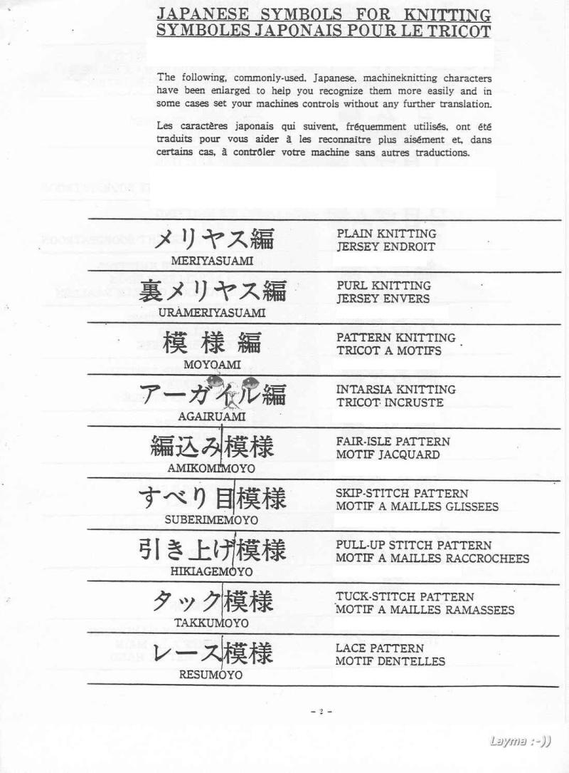 Hướng dẫn cách đọc mẫu đan Japane11