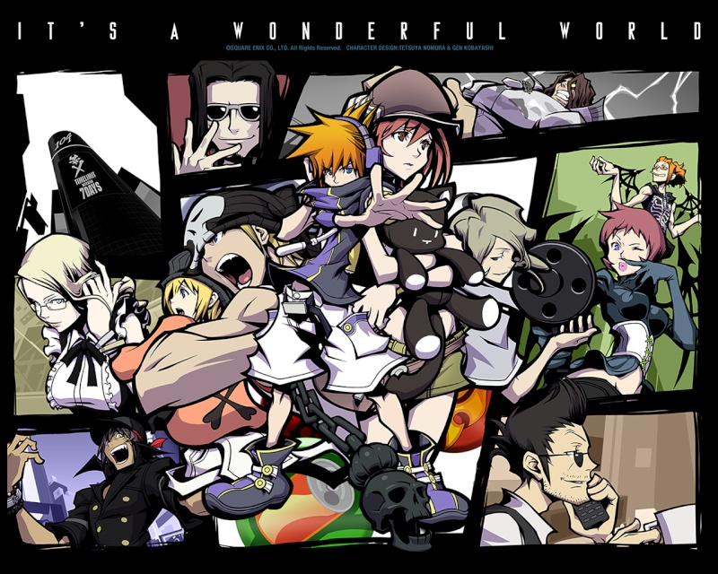 The World Ends With You
