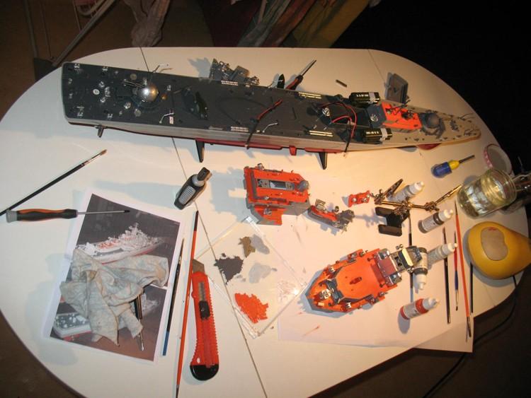 Destroyer RC Dapart11
