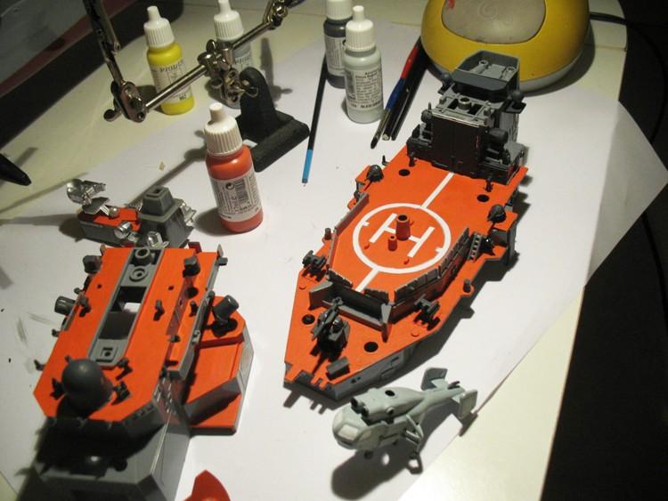 Destroyer RC Dapart12