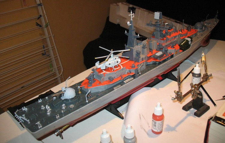Destroyer RC Dapart14