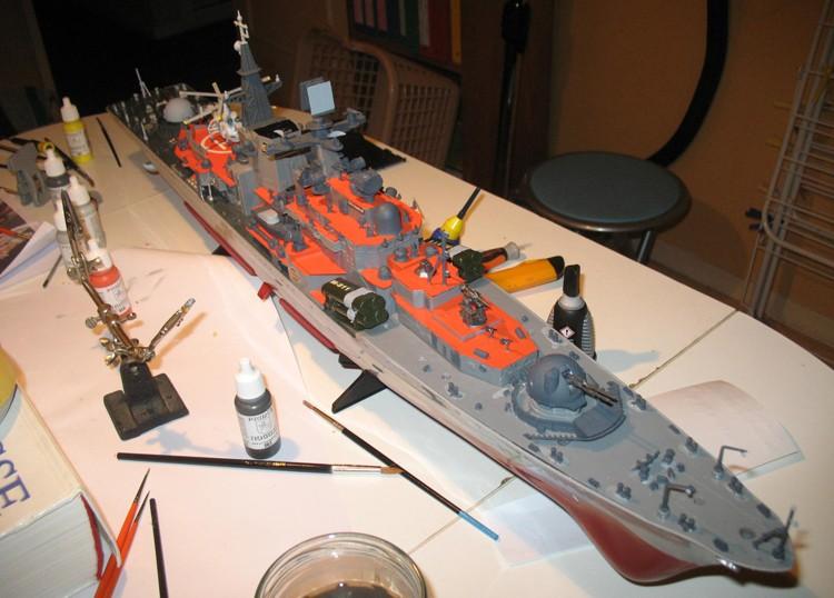 Destroyer RC Dapart15