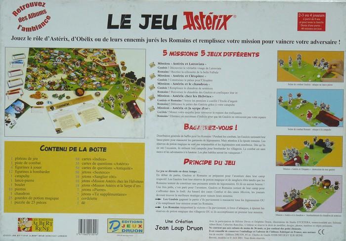 2001 - Le jeu Asterix - Editions Jeux Druon 2001_l12