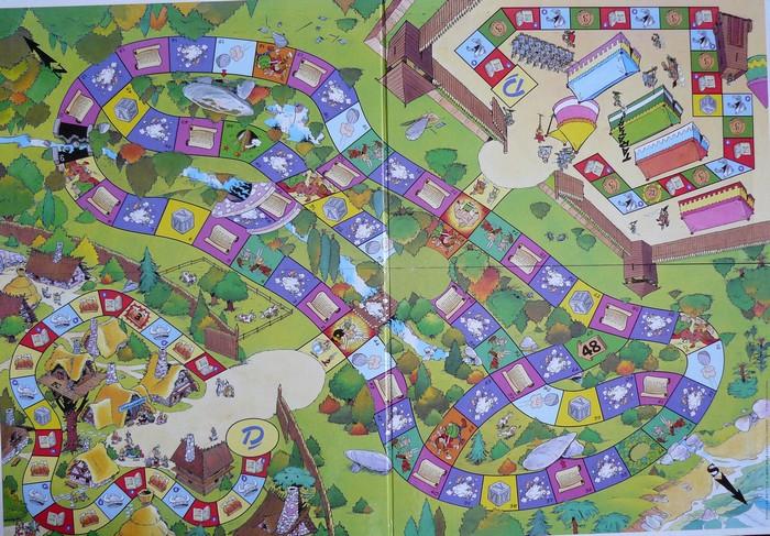 2001 - Le jeu Asterix - Editions Jeux Druon 2001_l14