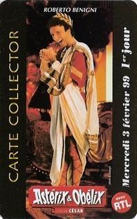 """1999 - Cartes Collectors """"Asterix et Obelix contre César"""" Detrit10"""