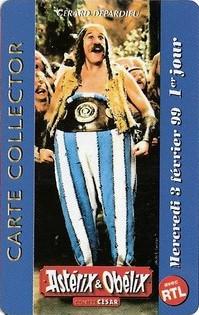 """1999 - Cartes Collectors """"Asterix et Obelix contre César"""" Obelix10"""
