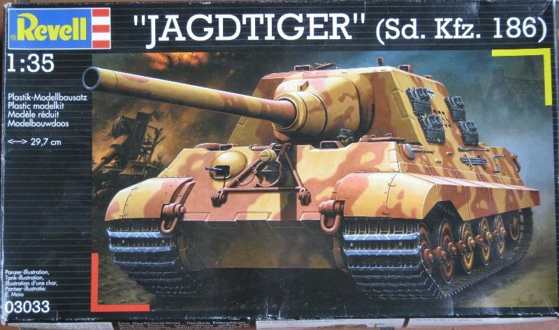 JAGDTIGER [REVELL 1/35] Boite10