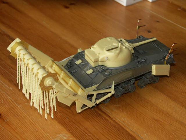 M4A4 SHERMAN CRAB [DRAGON 1/35] la résurection d'un projet abandonné - Page 2 Crab_f10