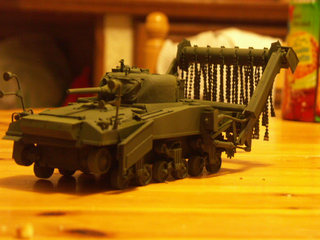 M4A4 SHERMAN CRAB [DRAGON 1/35] la résurection d'un projet abandonné - Page 2 Peint-11