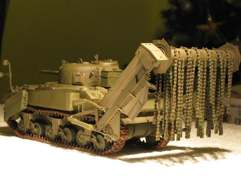 M4A4 SHERMAN CRAB [DRAGON 1/35] la résurection d'un projet abandonné - Page 3 Rouill10