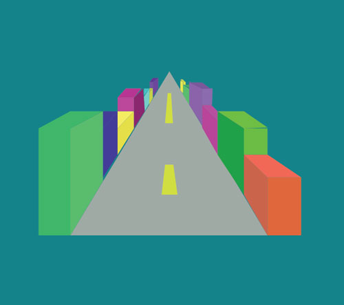 Assignment 24: two point perspective drawing 3d11