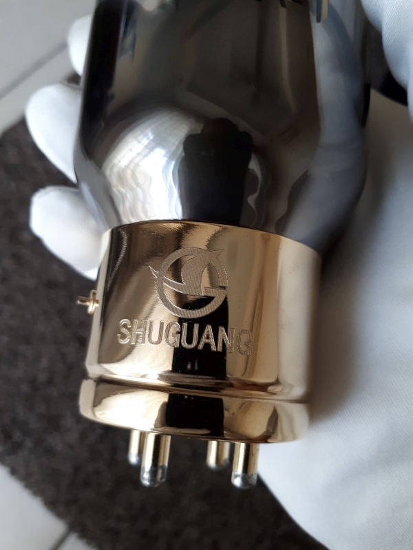 Shuguang 805A-T Nature Sound Series Vacuum Tubes (Used) 20180314