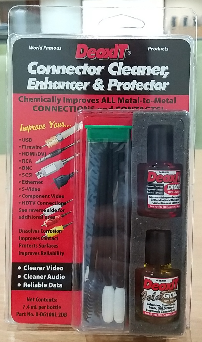 DeoxIT Connector Cleaner Enhancer & Protector (SOLD) 20200112