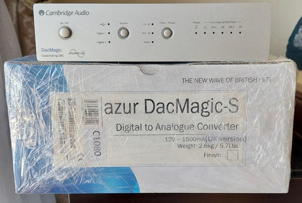 Cambridge Audio DacMagic Upsampling DAC (SOLD) 20210710