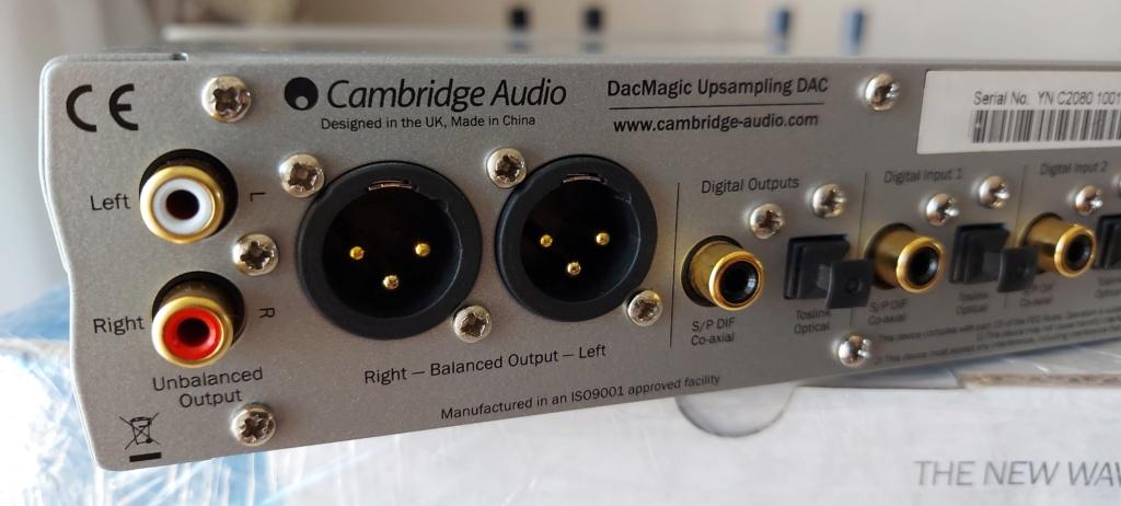 Cambridge Audio DacMagic Upsampling DAC (SOLD) 20210714
