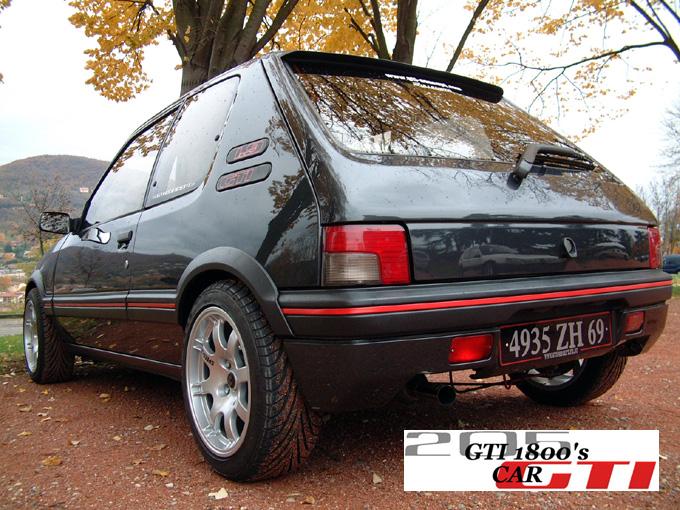 [GTI1800]..Mes 205 gti.....FINITION DU 205 T16..... 510