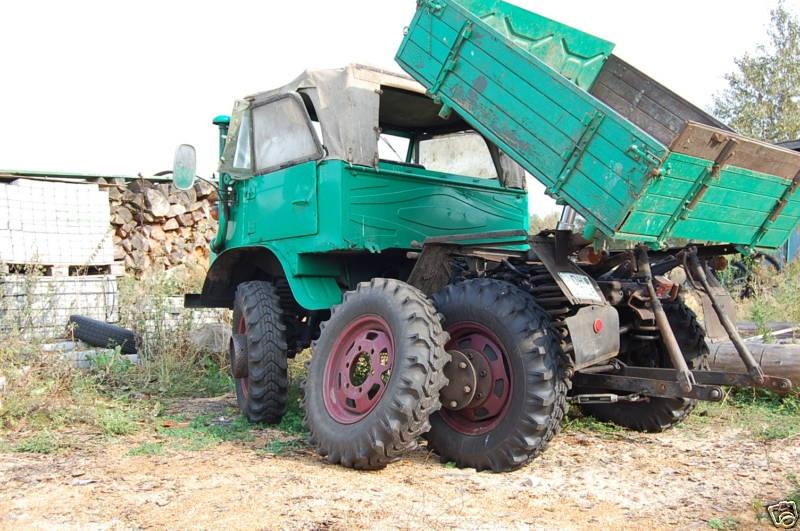 roues jumelées sur401 Unimog17