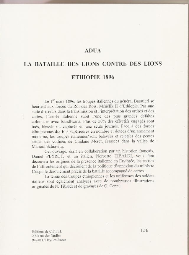 Adua, 1er mars 1896 (Norberto Tibaldi et Daniel Peyrot) 2012_210